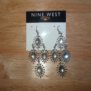 Nine West Chandelier Dangle Pierced Earrings